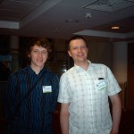 Myself with Conor Blevins from the MSS