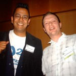 Myself with skeptic legend, libel case winner Simon Singh!