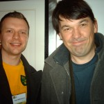 Me with Graham Linehan