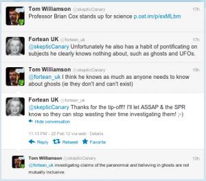 Twitter ghost conversation