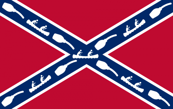 Flag of the Confederacy of Douchecanoes